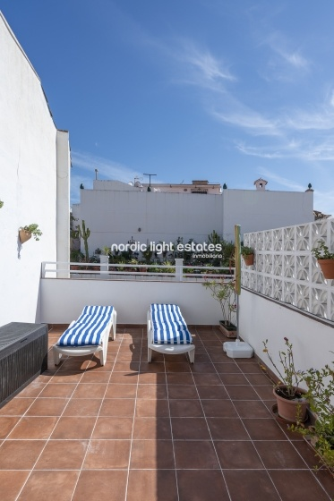 Carabeo. Centre, beach, private roof terrace