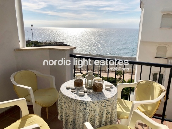 South facing sea front apartment