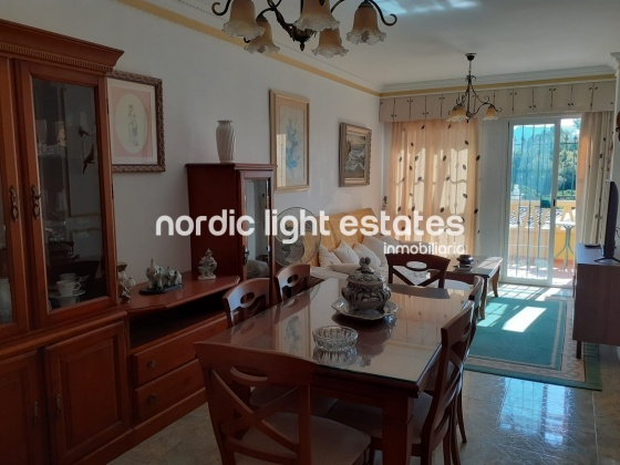 Semi detached house with communal pool and gardens