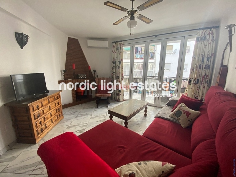 Bright apartment in Nerja centre