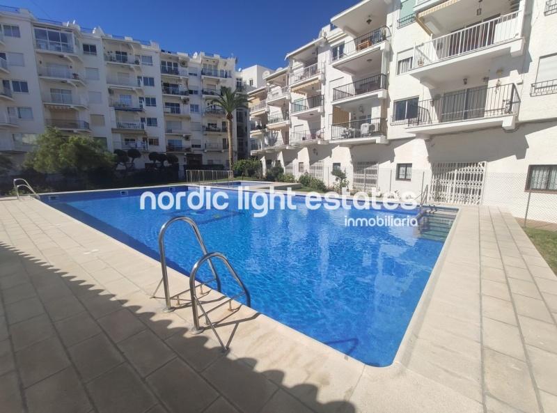 Luminoso apartamento situado en el centro de Nerja
