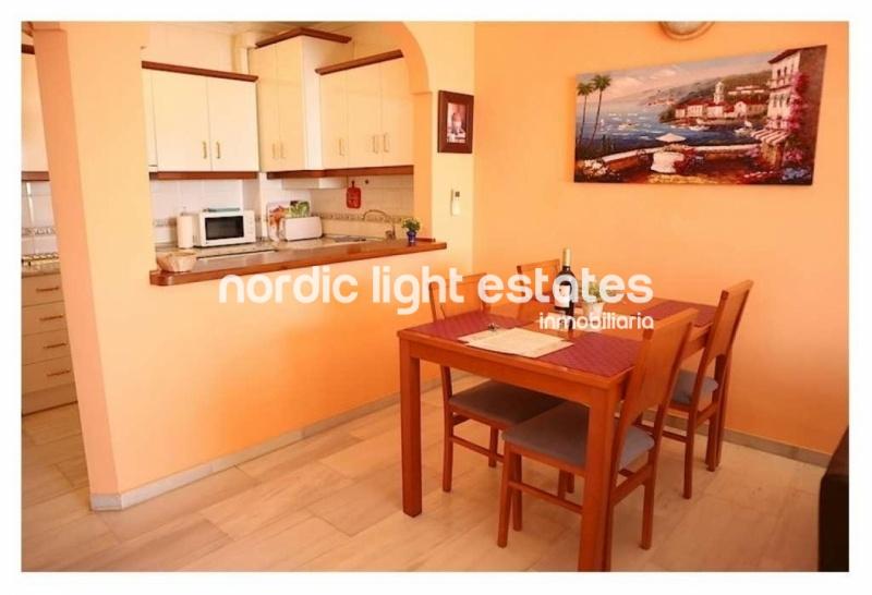Beachfront apartment in Nerja