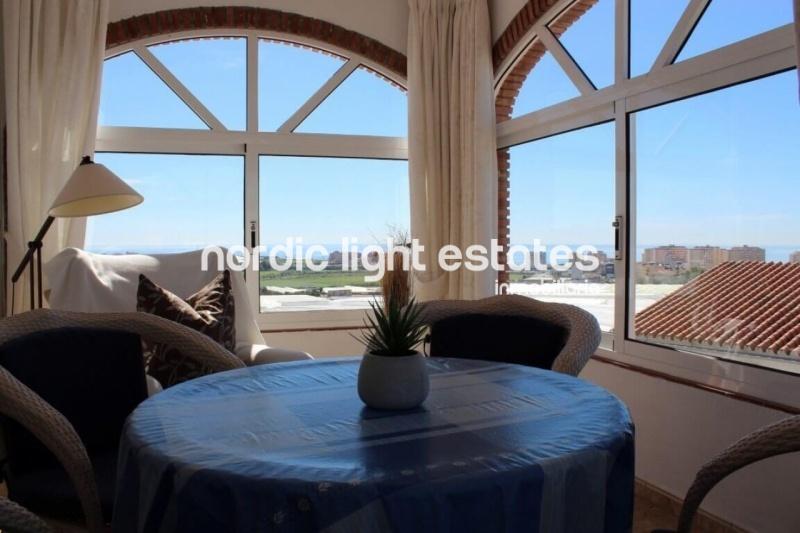 Villa in Torrox Costa with sea views