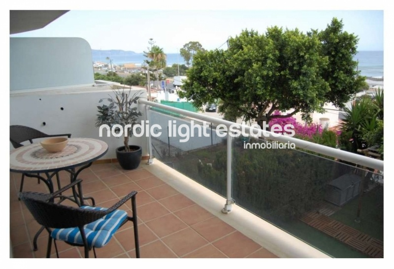 Apartment on the beachfront in Torrox.