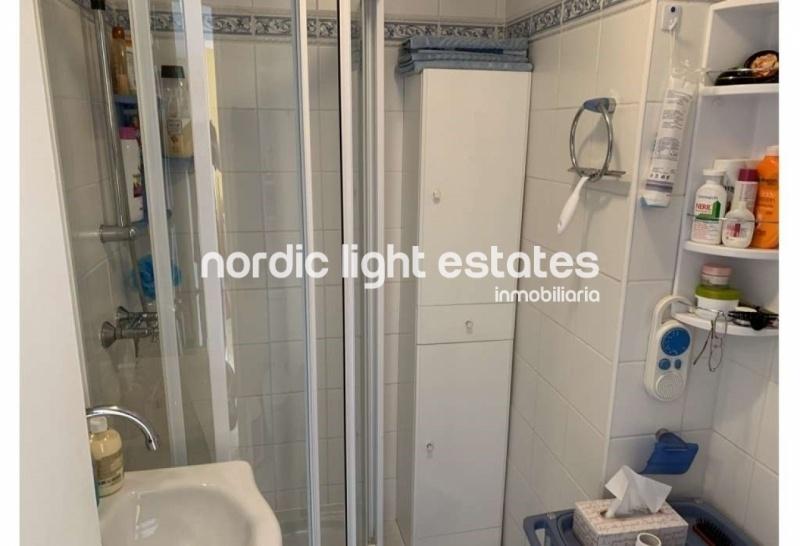Bright apartment in Nerja centre.