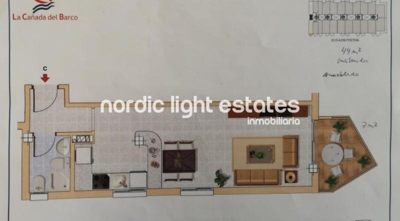 Modern studio apartment in Torrox Costa