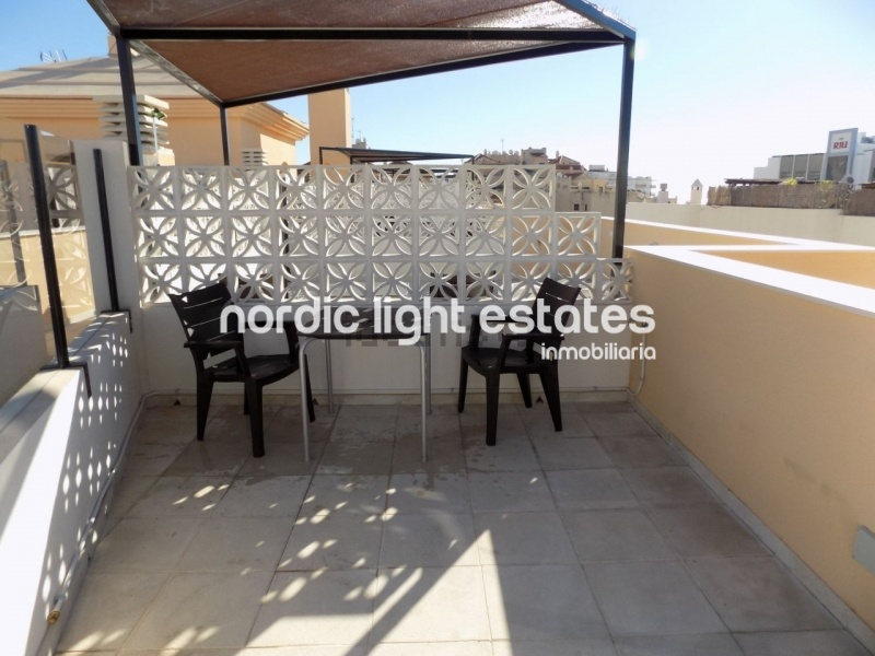 Similar properties Modern apartment with private roof terrace close to the Torrecilla Beach